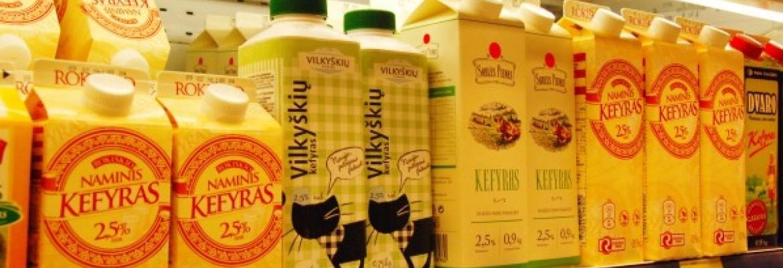 Eksportas augina pieno pramonę